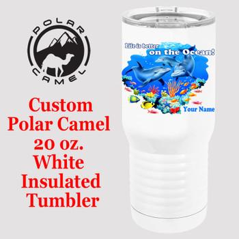 Custom Tumbler - 20 oz.  Design 012