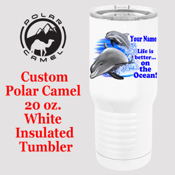 Custom Tumbler - 20 oz.  Design 013