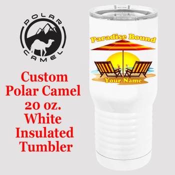 Custom Tumbler - 20 oz.  Design 014