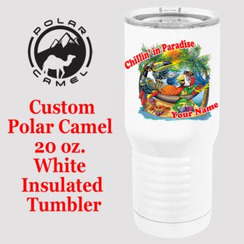 Custom Tumbler - 20 oz.  Design 015