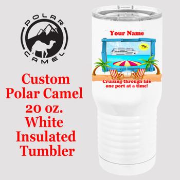 Custom Tumbler - 20 oz.  Design 016