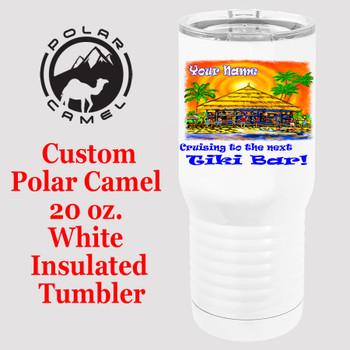 Custom Tumbler - 20 oz.  Design 017