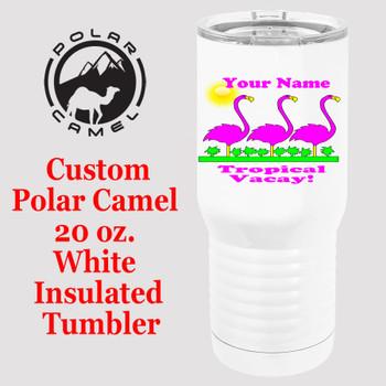Custom Tumbler - 20 oz.  Design 018