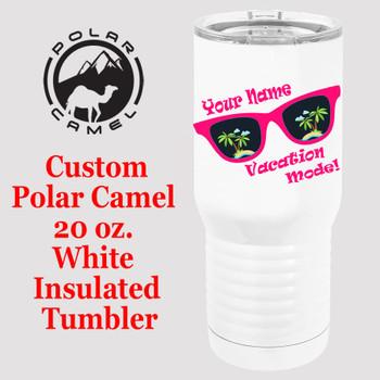 Custom Tumbler - 20 oz.  Design 019