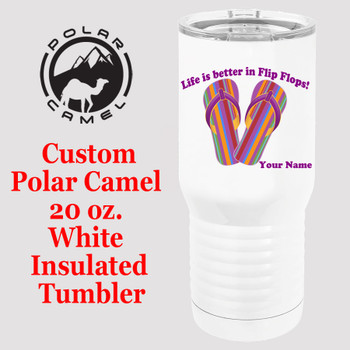 Custom Tumbler - 20 oz.  Design 022