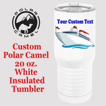Custom Tumbler - 20 oz.  Design 023