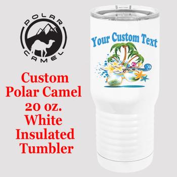 Custom Tumbler - 20 oz.  Design 024