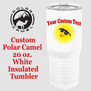 Custom Tumbler - 20 oz.  Design 025