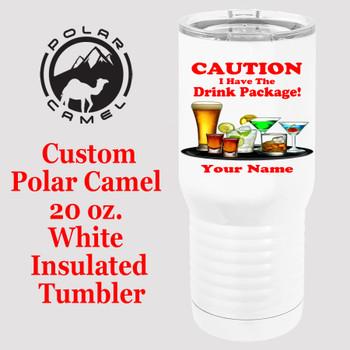 Custom Tumbler - 20 oz.  Design 026