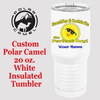 Custom Tumbler - 20 oz.  Design 028