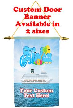 Cruise Ship Door Banner - Aloha 3