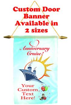 Cruise Ship Door Banner - Anniversary 3