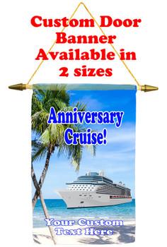 Cruise Ship Door Banner - Anniversary 4