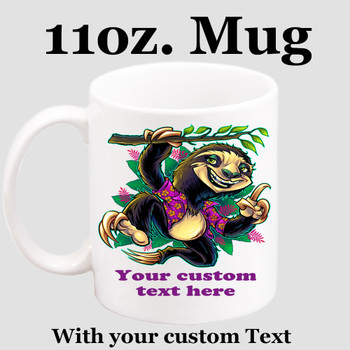 Cruise & Beach theme Custom 11 oz. mug.  Great gift for friends & family or as a special memento for you!  (019