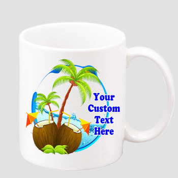 Cruise & Beach theme Custom 11 oz. mug.  Great gift for friends & family or as a special memento for you!  (023
