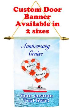 Cruise Ship Door Banner - Anniversary 7
