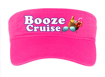 Cruise Visor - Full color art work with choice of 7 visor colors.  (s101