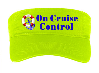 Cruise Visor - Full color art work with choice of 7 visor colors.  (s102
