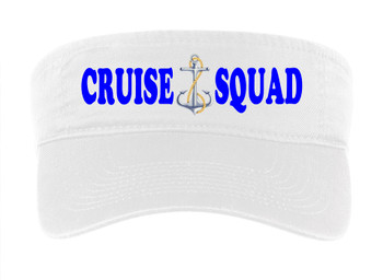 Cruise Visor - Full color art work with choice of 7 visor colors.  (s104