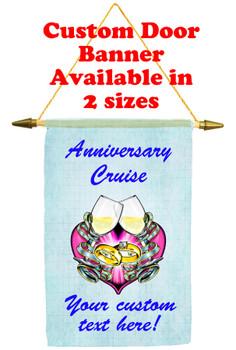 Cruise Ship Door Banner - Anniversary 8