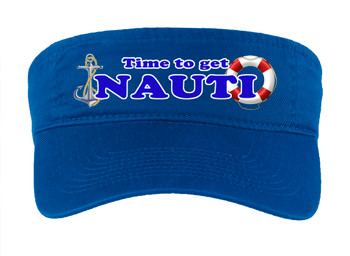 Cruise Visor - Full color art work with choice of 7 visor colors.  (s107