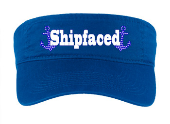 Cruise Visor - Full color art work with choice of 7 visor colors.  (s109