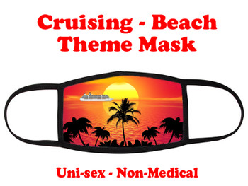Cruising and Beach theme mask - design 006