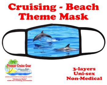 Cruising and Beach theme mask - design 008