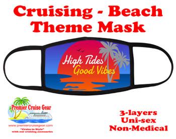 Cruising and Beach theme mask - design 016