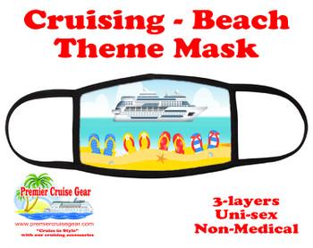 Cruising and Beach theme mask - design 017
