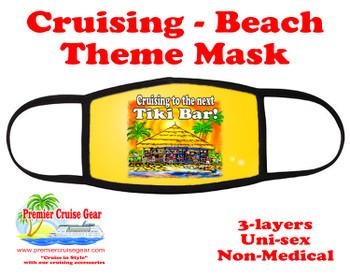 Cruising and Beach theme mask - design 033