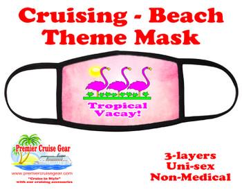 Cruising and Beach theme mask - design 034