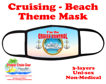 Cruising and Beach theme mask - design 035