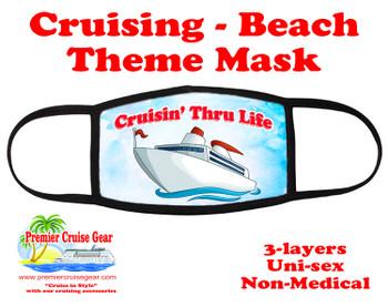 Cruising and Beach theme mask - design 052