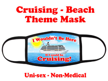 Cruising and Beach theme mask - design 079