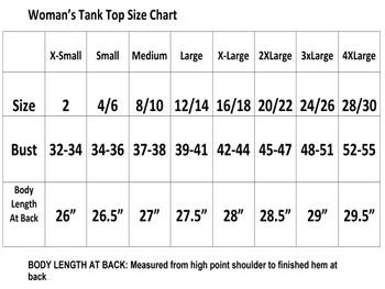 Rhinestone theme tank top. Ladies' tank top with rhinestone design