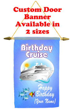 Cruise Ship Door Banner -Birthday 5