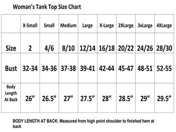 Rhinestone theme tank top. Ladies' tank top with rhinestone design - 011