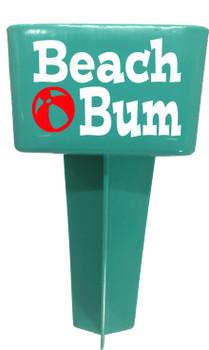 Beach - Sand Spiker.  Keep your drinks sand free.  Design 002