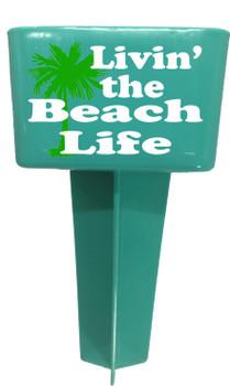 Beach - Sand Spiker.  Keep your drinks sand free.  Design 004
