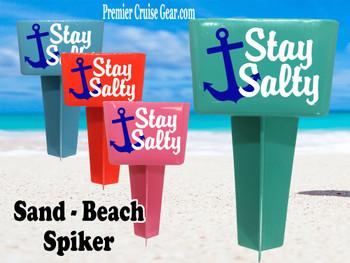 Beach - Sand Spiker.  Keep your drinks sand free.  Design 009