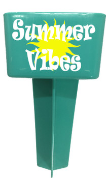Beach - Sand Spiker.  Keep your drinks sand free.  Design 015