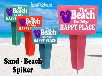 Beach - Sand Spiker.  Keep your drinks sand free.  Design 020