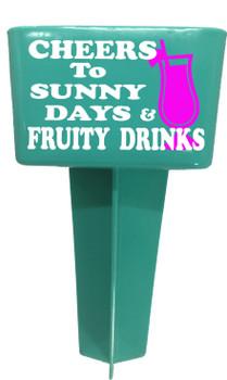 Beach - Sand Spiker.  Keep your drinks sand free.  Design 022