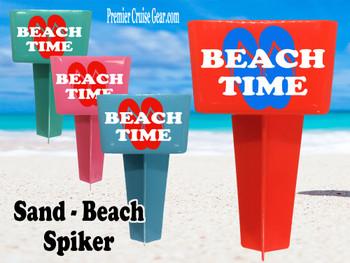 Beach - Sand Spiker.  Keep your drinks sand free.  Design 028