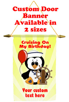 Cruise Ship Door Banner -Birthday 13