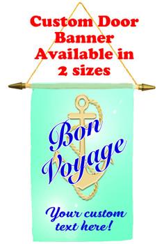 Cruise Ship Door Banner -Bon Voyage 1