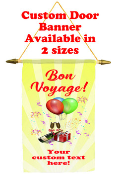 Cruise Ship Door Banner -Bon Voyage 2