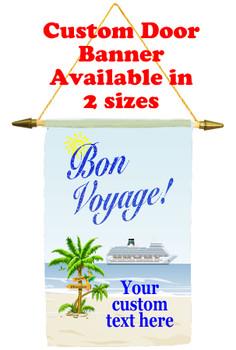 Cruise Ship Door Banner -Bon Voyage 3