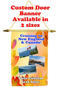 Cruise Ship Door Banner -Canada 2